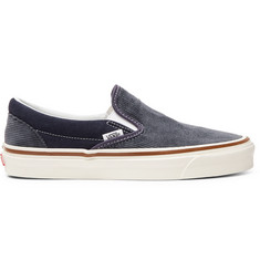 496c99634b94 Vans OG 98 DX Cotton-Corduroy and Suede Slip-On Sneakers