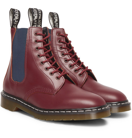 + Dr. Martens Filth And Fury Printed Leather Boots by Neighborhood