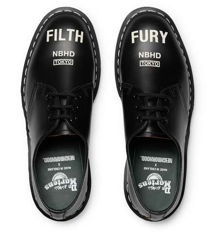 + Dr Martens 1461 Printed Leather Derby Shoes by Neighborhood