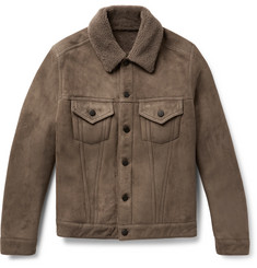 Valstar - Slim-Fit Shearling Trucker Jacket
