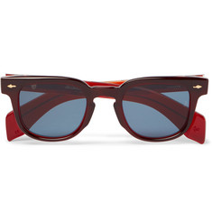 Jacques Marie Mage Jax Square-Frame Acetate Sunglasses