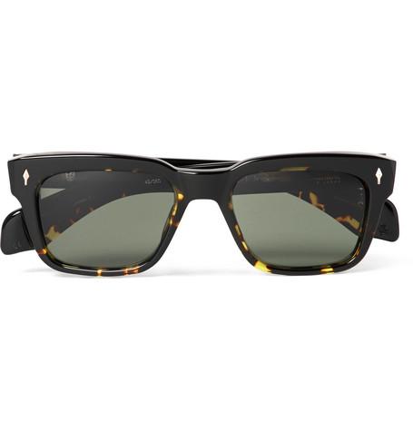 JACQUES MARIE MAGE Molino Square-frame Tortoiseshell Acetate Sunglasses - Tortoiseshell NIwwtp26wf