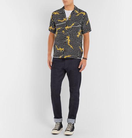 Leon Slim Fit Selvedge Stretch Denim Jeans by Jean Shop