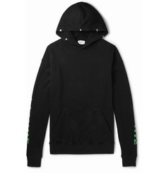 Rhude Oversized Printed Loopback Cotton-Jersey Hoodie