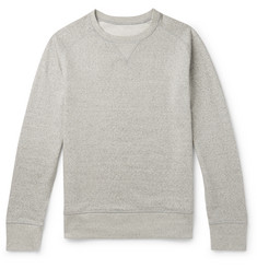 Secondskin Mélange Loopback Supima Cotton-Jersey Sweatshirt