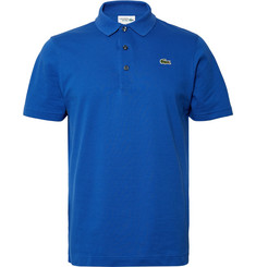 Lacoste Tennis Novak Djokovic Cotton-Piqué Polo Shirt