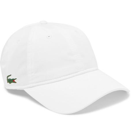 Logo Appliquéd Shell Baseball Cap by Lacoste Tennis