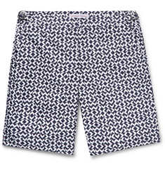 Orlebar Brown Dane Slim-Fit Long-Length Printed Swim Shorts