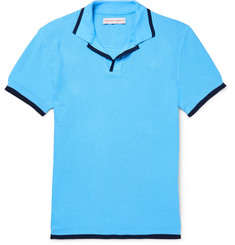 Orlebar Brown Erick Slim-Fit Cotton-Piqué Polo Shirt