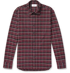 Mr P.-Checked Brushed Cotton-Flannel Shirt