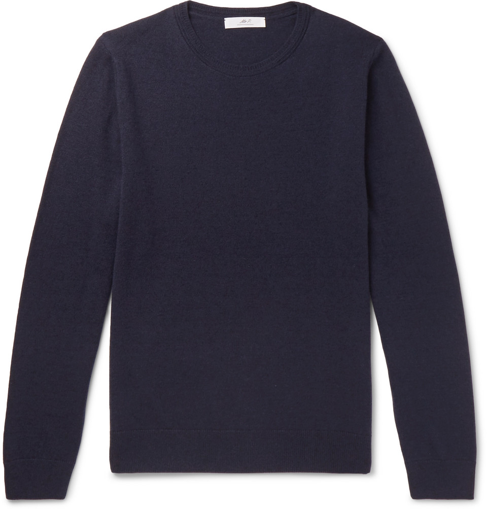 Mr P. Slim-Fit Merino Wool Sweater