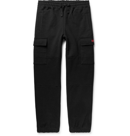Tapered Loopback Cotton Jersey Cargo Sweatpants by Aimé Leon Dore