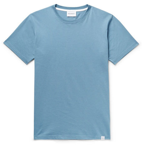 Neils Standard Cotton Jersey T Shirt by Norse Projects