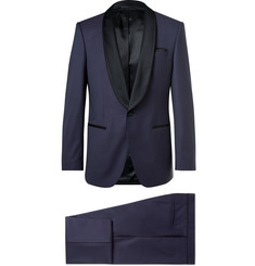 Hugo Boss Henry Satin-Trimmed Virgin Wool Tuxedo