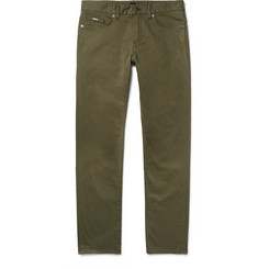 Hugo Boss Delaware Slim-Fit Stretch-Cotton Trousers