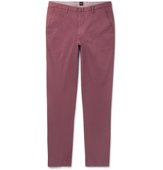 Hugo Boss Kaito Slim-Fit Tapered Stretch-Cotton Twill Chinos