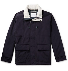 Norse Projects Ystad Waterproof Nylon and Cotton-Canvas Jacket