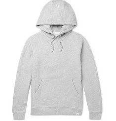 Norse Projects Ketel Mélange Fleece-Back Cotton-Jersey Hoodie