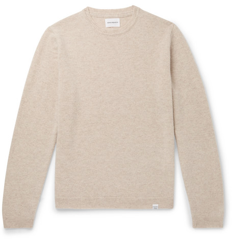 Sigfried Brushed Wool Sweater by Norse Projects