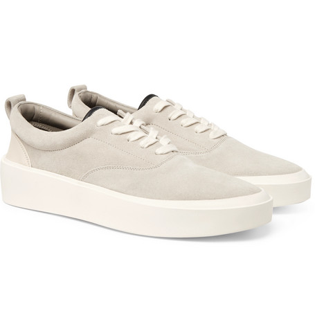 101 Nubuck And Leather Sneakers by Fear Of God