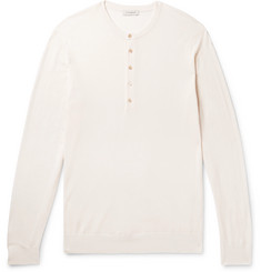 P. Johnson Merino Wool Henley T-Shirt