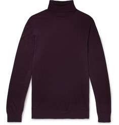P. Johnson Merino Wool Rollneck Sweater