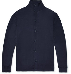 P. Johnson Slim-Fit Superfine Merino Wool Cardigan