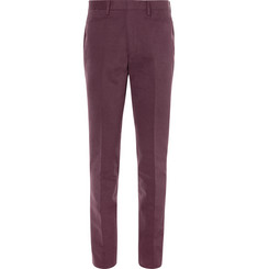 P. Johnson Slim-Fit Cotton-Corduroy Trousers
