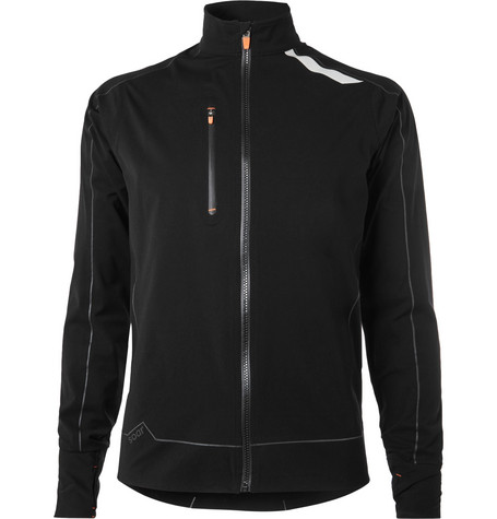 SOAR X-Line Water-Repellent Stretch-Shell Jacket - Black