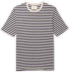 Folk - Striped Slub Cotton-Jersey T-Shirt