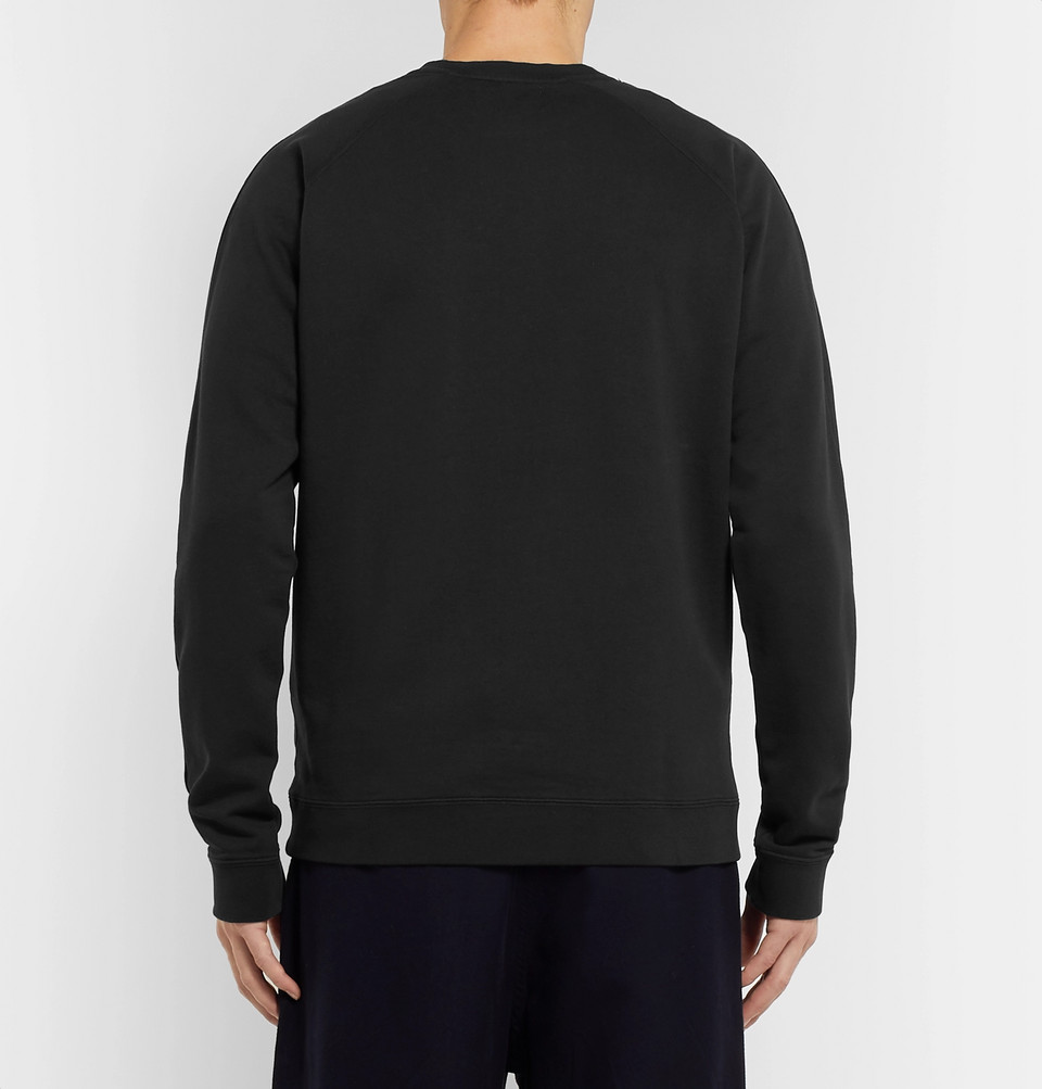 Folk Rivet Loopback Cotton-Jersey Sweatshirt