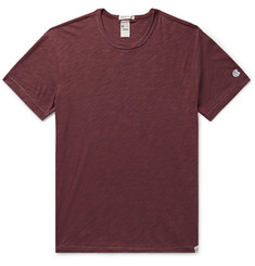Kingsman - + Todd Snyder + Champion Mélange Slub Cotton-Jersey T-Shirt