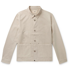 Folk Ripstop-Panelled Cotton-Twill Jacket