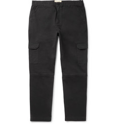 Folk - Ripstop-Panelled Cotton-Twill Cargo Trousers