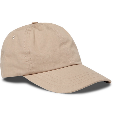 Cotton Ripstop Baseball Cap by Folk