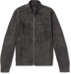 Theory - Radic Tremont Suede Jacket