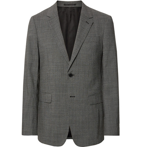 90dd51f2a4 Theory - Black Chambers Slim-Fit Stretch-Wool Suit Jacket