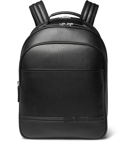 e37b1c7c9 extreme-cross-grain-leather-backpack by montblanc