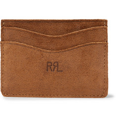 RRL - Roughout Suede Cardholder