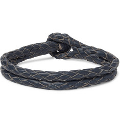 RRL Braided Leather Bracelet