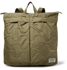 RRL Helmet Quilted Shell Convertible Tote Bag