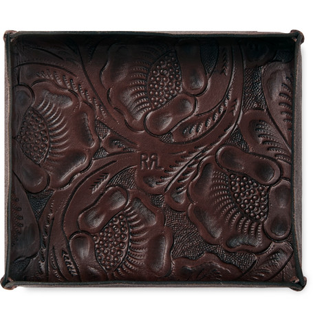 Leather Valet Tray by Rrl