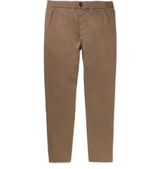 Oliver Spencer Tapered Cotton Drawstring Trousers