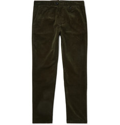 Oliver Spencer Fishtail Cotton-Corduroy Trousers
