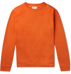 Oliver Spencer Robin Fleece-Back Cotton-Jersey Sweatshirt