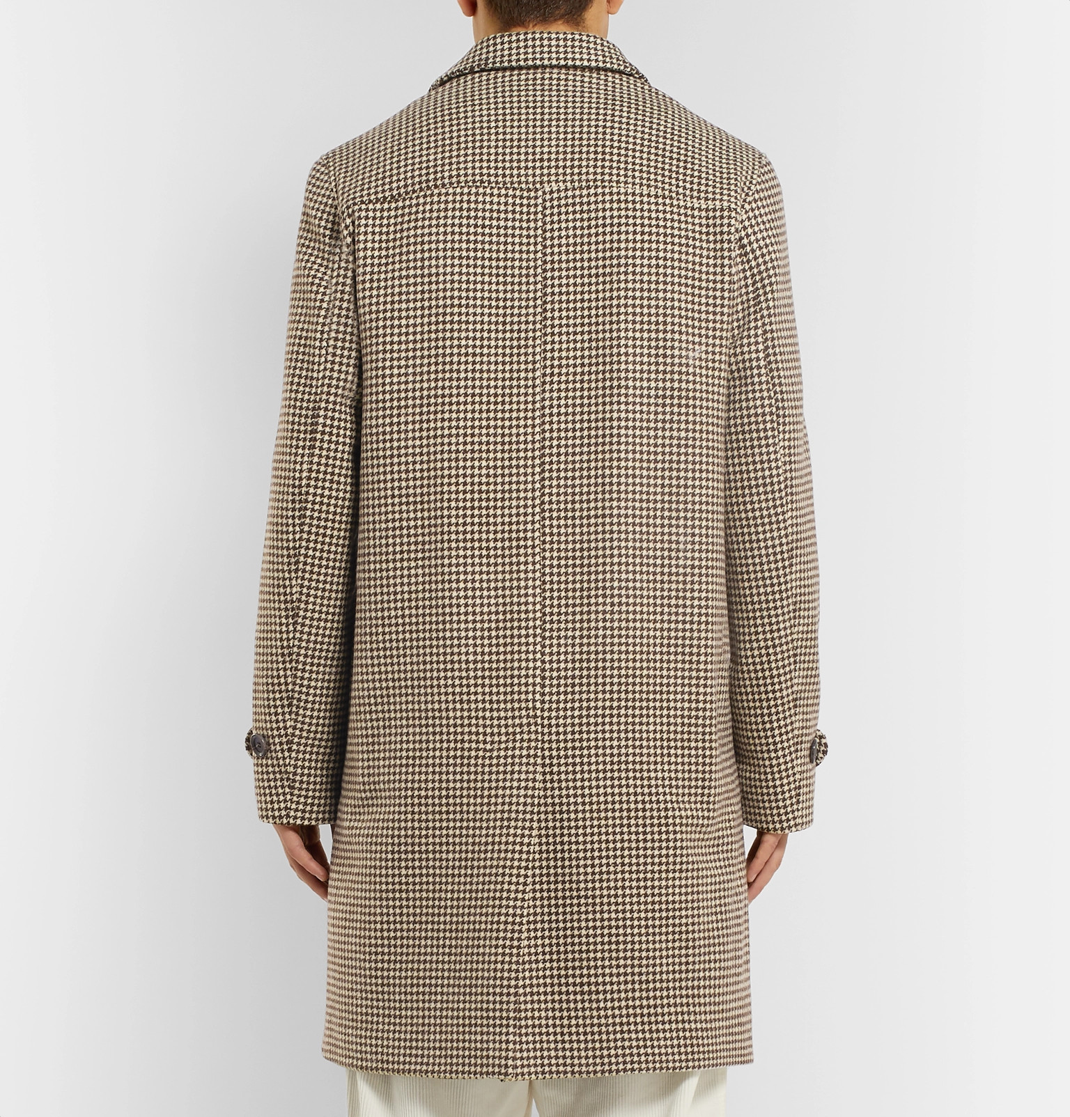 64316edc8565 Oliver Spencer - Beaumont Houndstooth Wool Coat