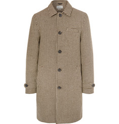 Oliver Spencer - Beaumont Houndstooth Wool Coat