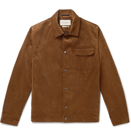 Waltham Cotton Corduroy Blouson Jacket by Oliver Spencer