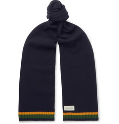 Oliver Spencer Arbury Striped Wool Scarf