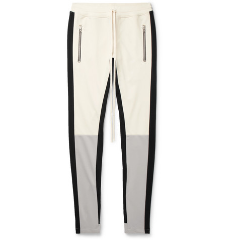 Tapered Panelled Jersey Sweatpants by Fear Of God